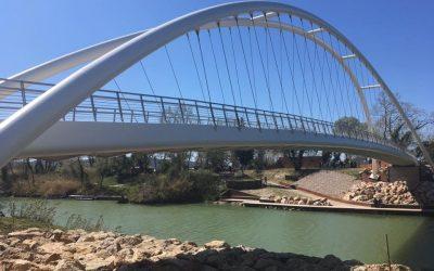 Ponte Ciclopedonale sul fiume Ombrone